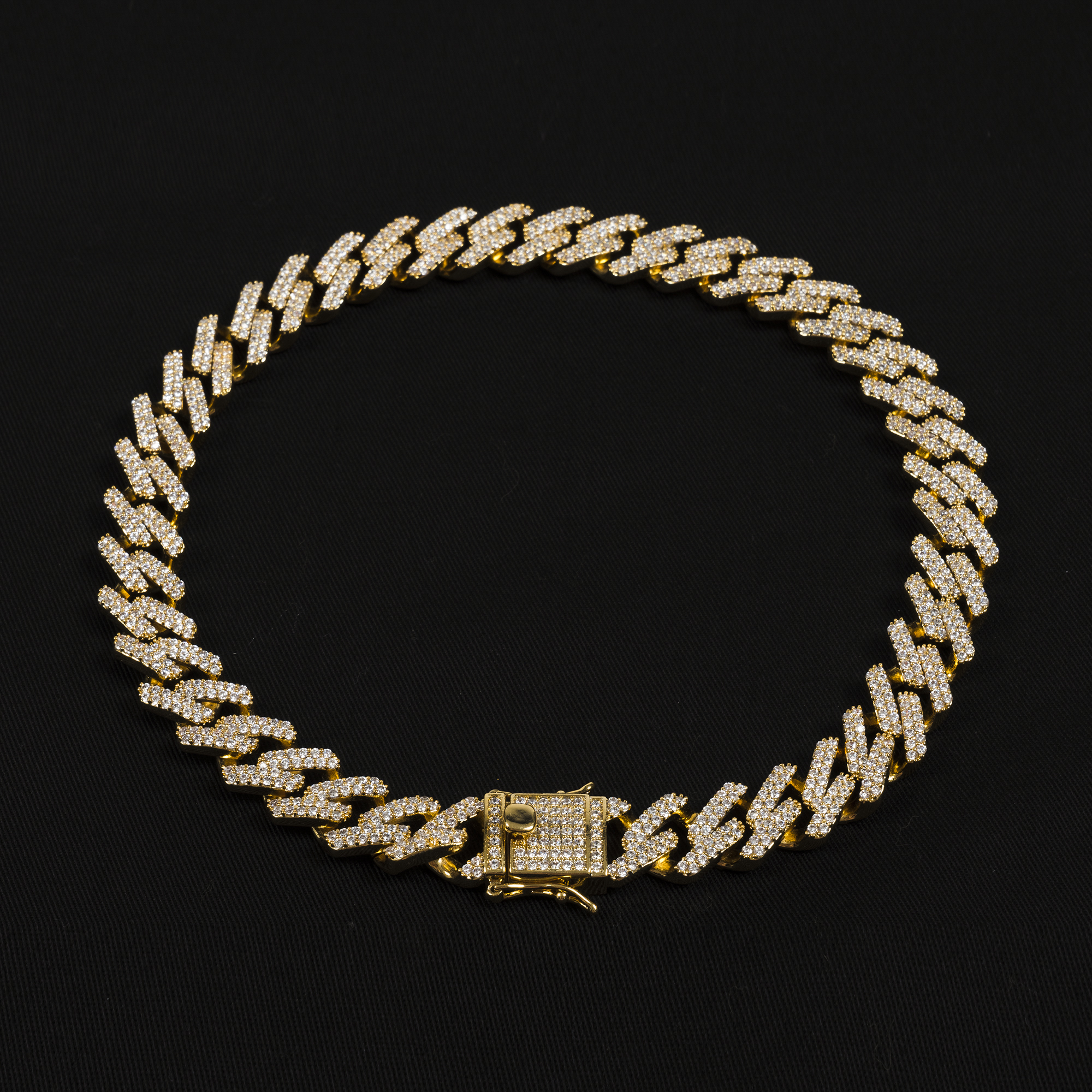 MIAMI CUBAN LINK NECKLACE IN GOLD