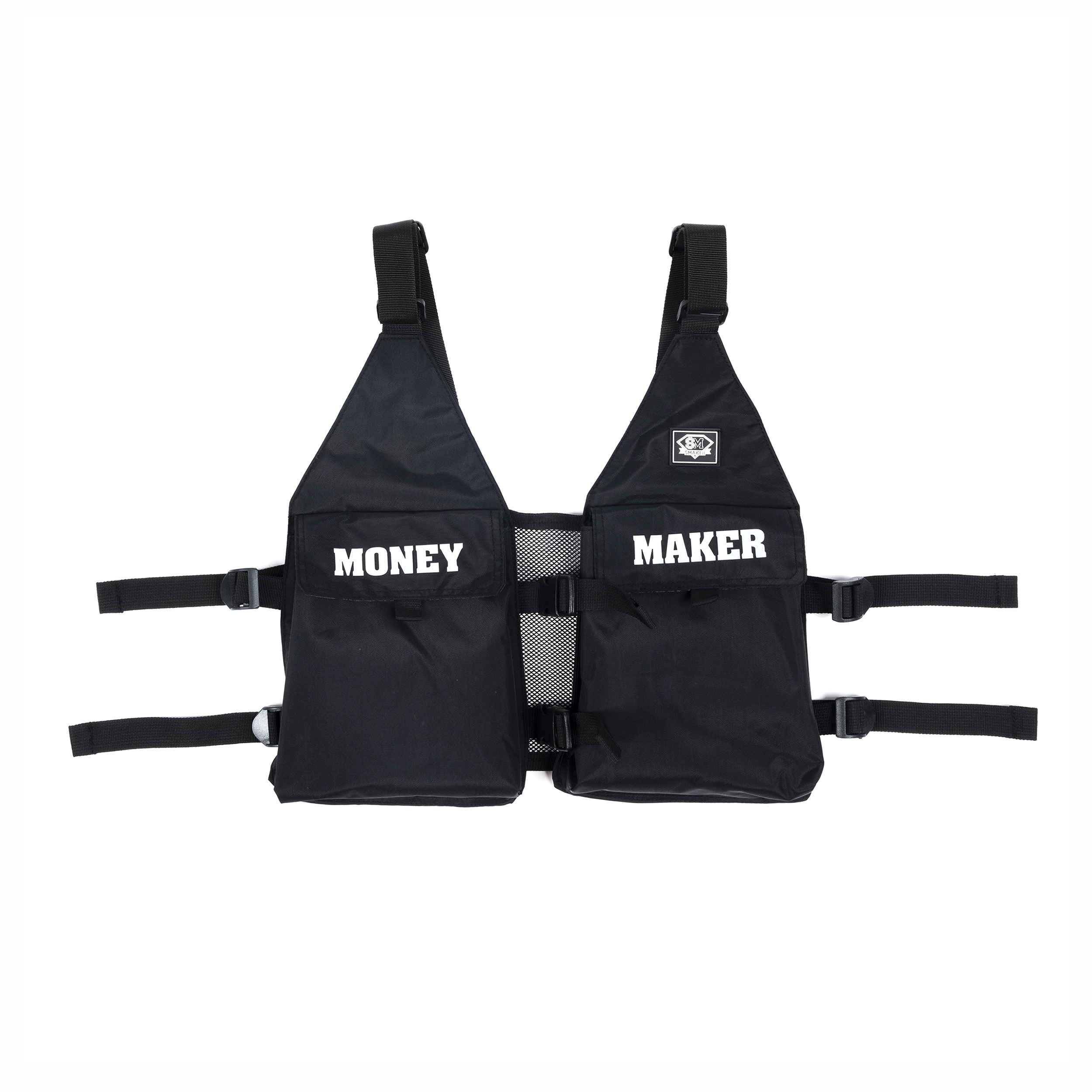 CHEST HARNESS BAG IN BLACK
